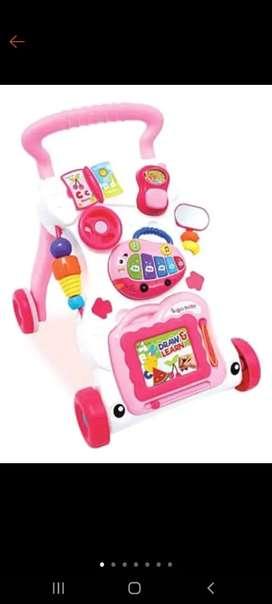 Push walker sugar baby pink