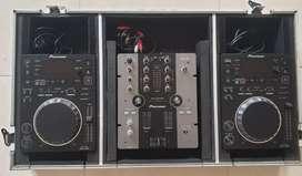 PIONEER CDJ350 & DJM250 Disc Jockey set