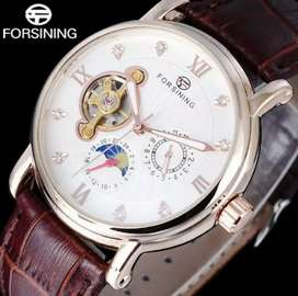 New forsining automatic tourbillon watch for men