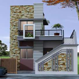 3bhk individual row house for booking and plot purchasing