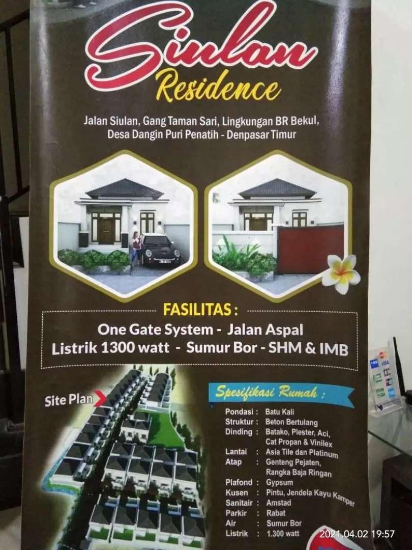 Rumah type 45 kamar 2 tinggal masuk saja di DENPASAR murah cuma 599 jt
