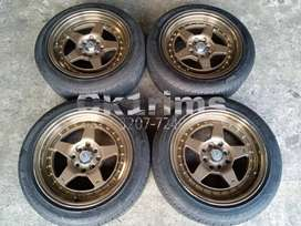 Work CR01 R15 Ban Turanza 185/55 Ccok Brio,Agya,Wagon,Mirage dll