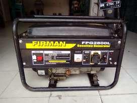 genset firman 2500 watt