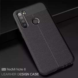 Redmi Note 8 dan Note 8 Pro Softcase Black