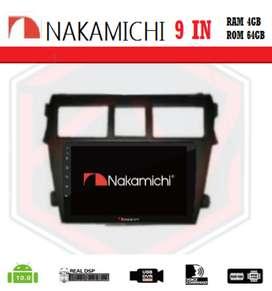 """audio kikim-  NAKAMICHI NA-3102i Android 9""""RAM 4-64gb VIOS 2018"""