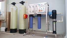 Brand new 1000lph ro water plant 95000/-