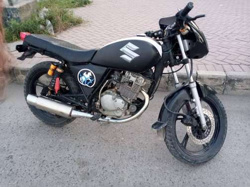 Suzuki GS 150 Modified