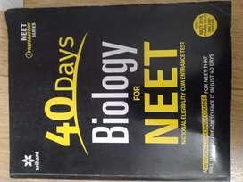 NEET Biology 40 DAYS Book