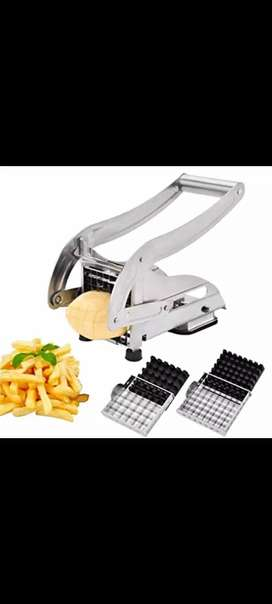 Stainless Steel Potato Cutting Machine