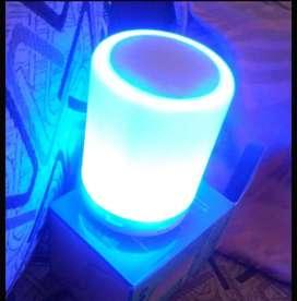 Bluetooth speaker with light(new)
