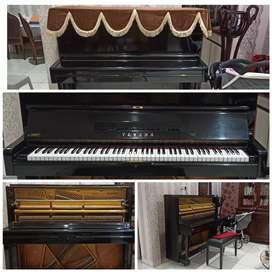 Dijual SAYANG. Piano Yamaha U2, Nippon Gakki, Bulit up, JEPANG.