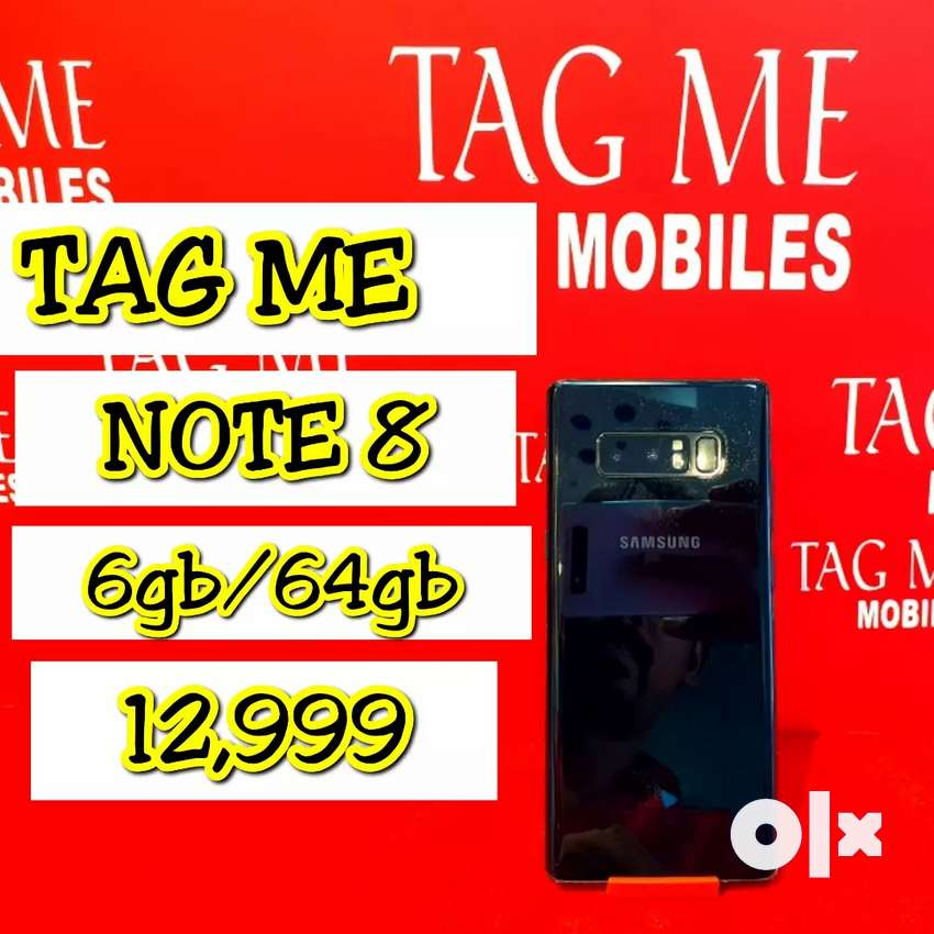 TAG ME NOTE 8 LITE USED 6,64 0