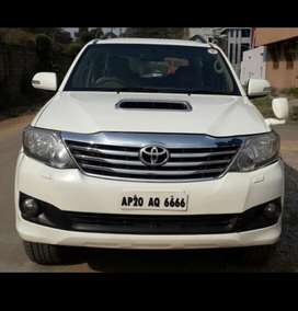Toyota Fortuner 2.8 4X2 Manual, 2012, Diesel