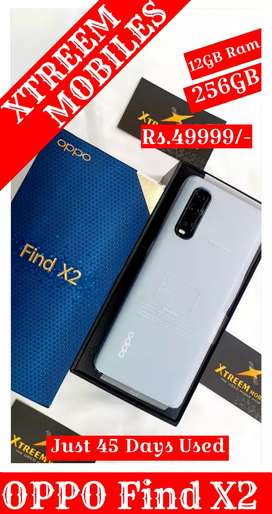 OPPO Find X2..12/256..Just 45 Days Used..