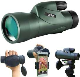Gosky 12x55 High Definition Monocular Telescope and Quick Smartphone H