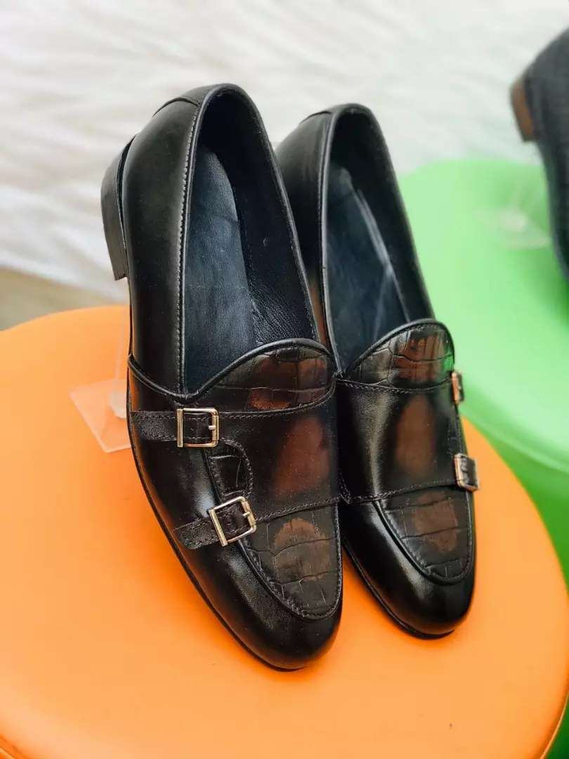 Pure leather shoes handmade for men formal casual also on order 0