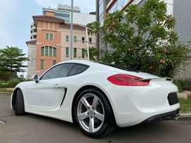 Porsche Cayman 2.7 PDK 981 Coupe 2014 White Km5000 Full Option ATPM