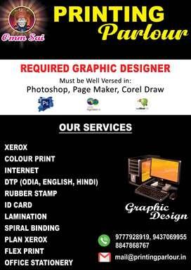 REQUIRED GRAPHIC DESIGNER
