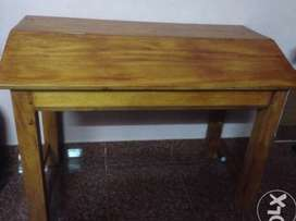 Top Open wooden study table