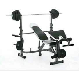 Peralatan fitness bench press baru