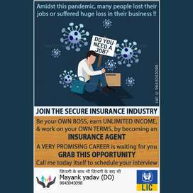 Join India's no. 1 Insurance company LIC