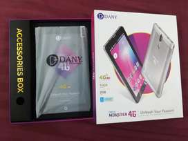 Dany monster 4g dual sim (2GB ram , 16 GB storage)
