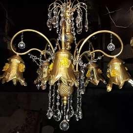 Lampu Gantung Kristal Cabang 5