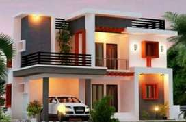 ADOOR - KARUVATTA # 13.5 Cents Land with 4BHK Home