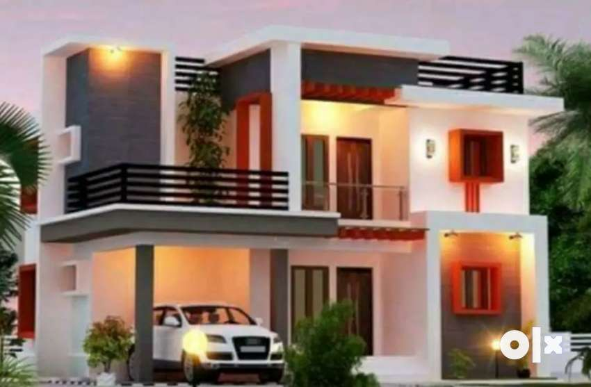 ADOOR - KARUVATTA # 13.5 Cents Land with 4BHK Home 0