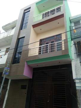 72 YARD TRIPLE STORY HOUSE 58 LAC (JAGRATI VIHAR GARH ROAD