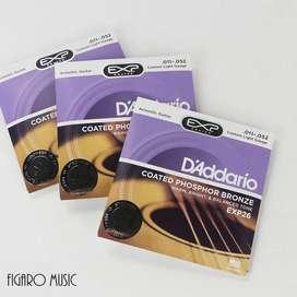 Senar Gitar Akustik D'Addario EXP26 .011-052 - Acoustic Guitar String