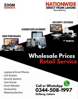 All accessories available at wholesales