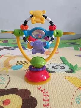 Preloved playgro highchair spinning toy