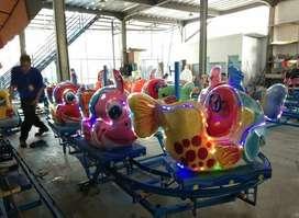 kereta panggung odong nemo mainan edukasi eskavator excavator mini TWB