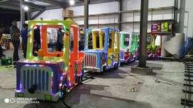 kereta lantai jeep jumbo lampu led hias odong odong AF