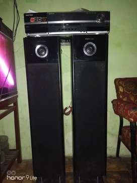 Dijual spiker politron amplifier dan salon