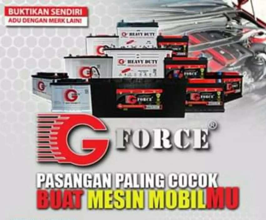 Jual aki mobil basah serta kering G force Battery garansi 6 bln 0