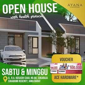 Rumah' di kota Sukabumi harga terjangkau