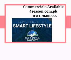 commercial plot for Sale In capital smart City Islamabad
