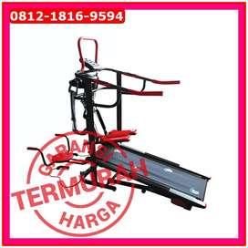 Treadmill Manual 6 Fungsi TL 004 New D