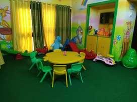 Branded Play school.