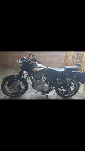 Well maintain single hand 500cc standard bullet bike with allouwheel