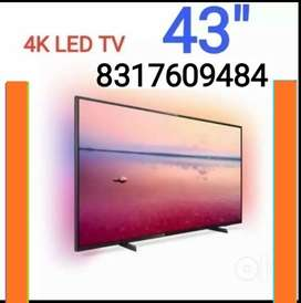 "43"" FHD LED TV 4K 1+2YRS REPLACEMENT GUARANTEE LED TV IPS PANEL LED TV"