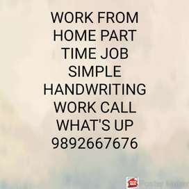 BEST OPPORTUNITY WORK AT HOME