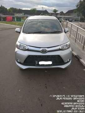 Dijual Santay Toyota Avanza Veloz 1.5 2016 AT Silver