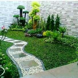 Pembuat taman. Rumah