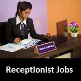 Reception jobs Female's required freshers Experience both can apply N