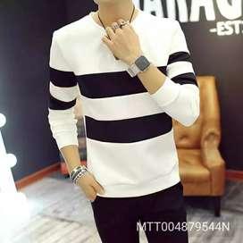 Axxitude Mens Full Sleeve Cotton Round Neck Tshirt