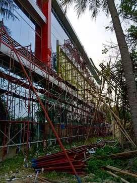   Pemasangan ACP didinding gedung  