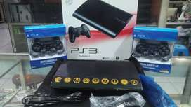 Ps3 super slim hdd 500gb full shet,full game